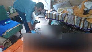 Petugas identifikasi Polres Bukittinggi melakukan olah Tempat Kejadian Perkara (TKP) mayat membusuk di Kubang Putih, Agam. (Foto: Dok. Istimewa)
