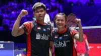 Ganda campuran Indonesia Praveen Jordan/Melati Daeva Oktavianti (Foto PBSI)