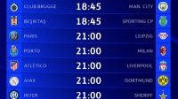 Jadwal Pekan Ketiga Liga Champions (Foto: Twitter UEFA Champions League)
